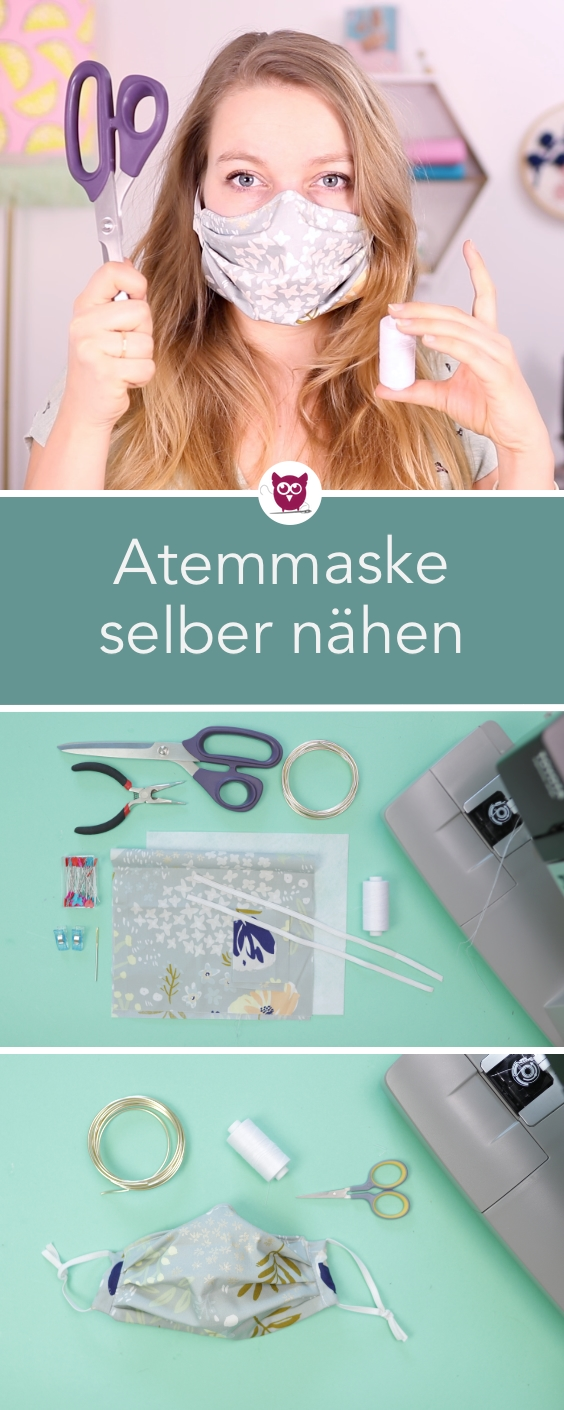 Photo of Atemschutzmaske / Mundschutz selber nähen