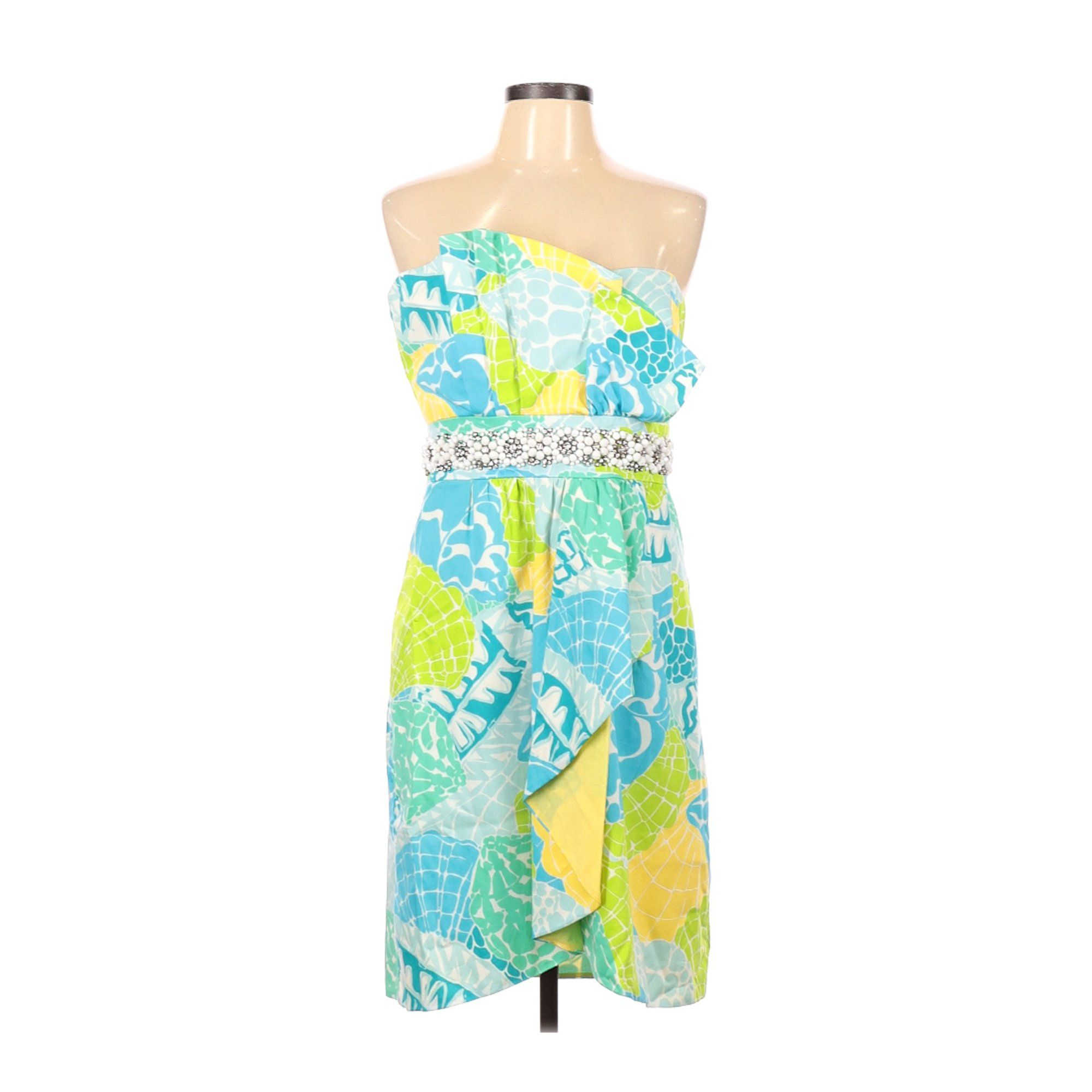 Lilly Pulitzer Pre Owned Lilly Pulitzer Women S Size 12 Cocktail Dress Walmart Com Walmart Com In 2021 Dresses Cocktail Dress Yellow Dress [ 2000 x 2000 Pixel ]