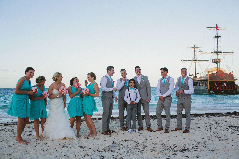 punta cana wedding photos