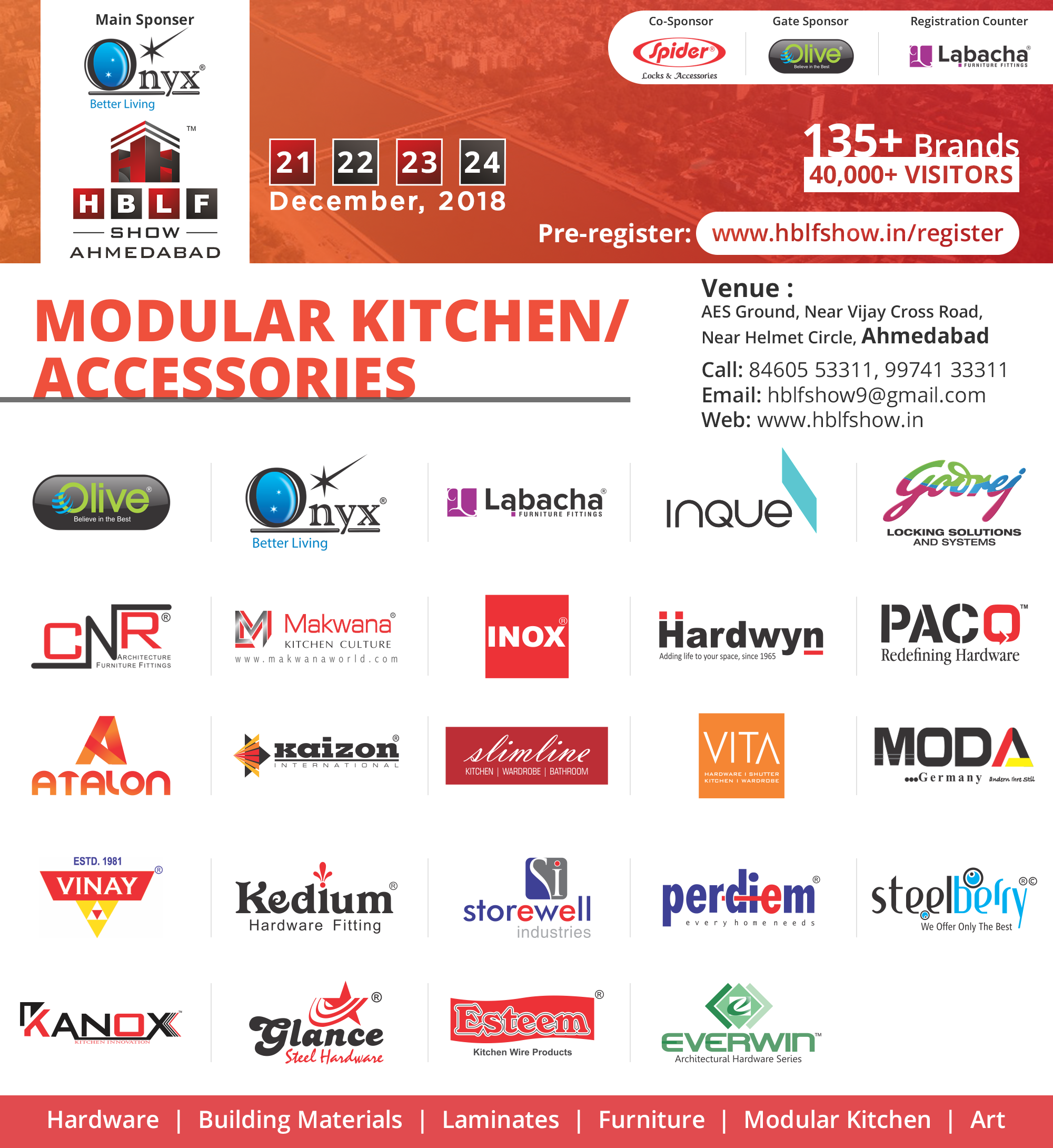 Revealing The List Of Modular Kitchen Accessories Brands Paring In Hblf Show Each One Is A Leading Brand Its Respective Segment