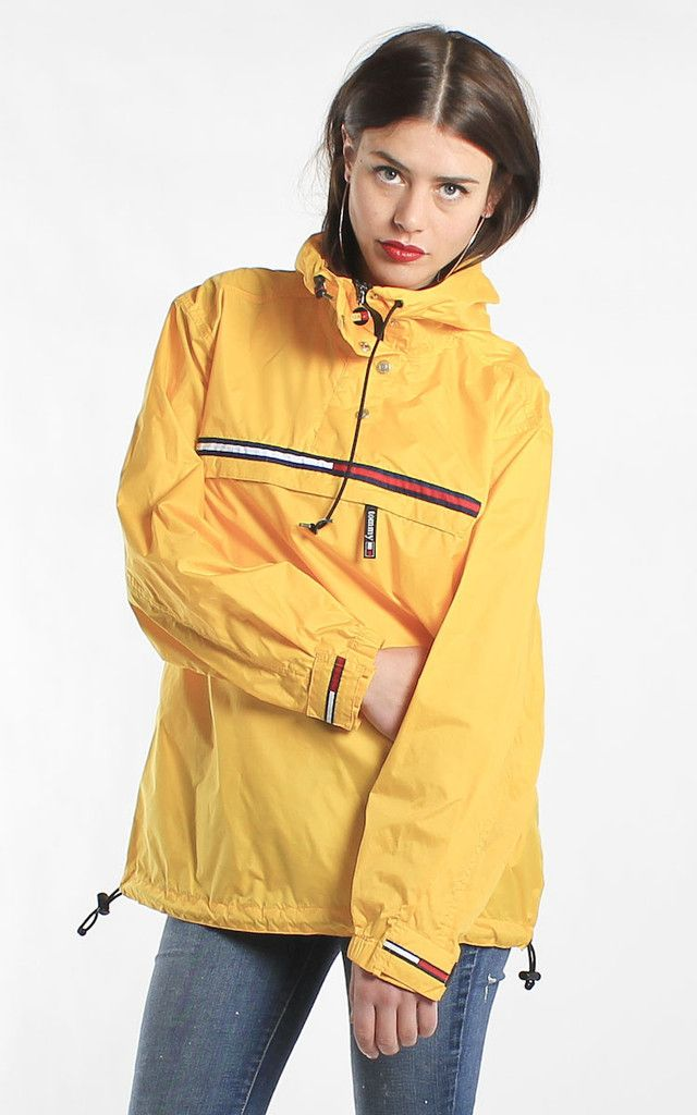 Vintage Tommy Hilfiger Yellow Jacket   Vintage   Pinterest   Tommy ... 6d9af7213905