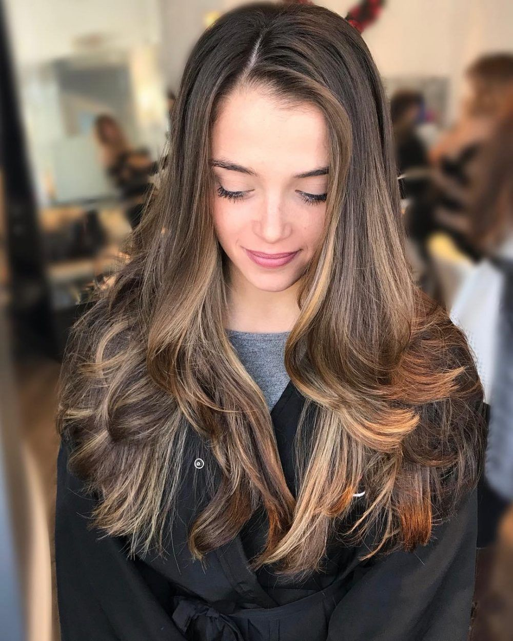 26 easy haircuts and hairstyles for long straight hair in