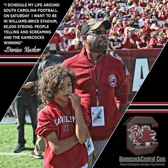 Darius Rucker South Carolina Football Carolina Football South