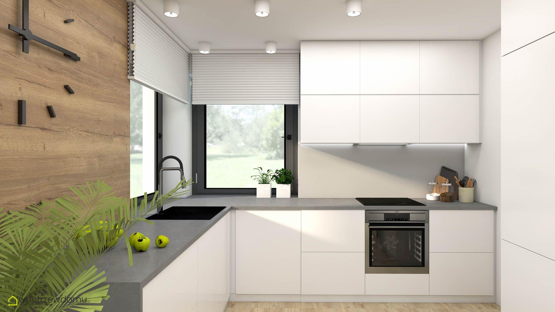Nowoczesna Biala Kuchnia Cabinet Design Kitchen Cabinet Design House Styles