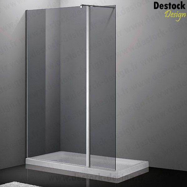 paroi de douche fixe avec retour personnalisable 118 25 ou 40 cm 679 et pour ma salle de. Black Bedroom Furniture Sets. Home Design Ideas