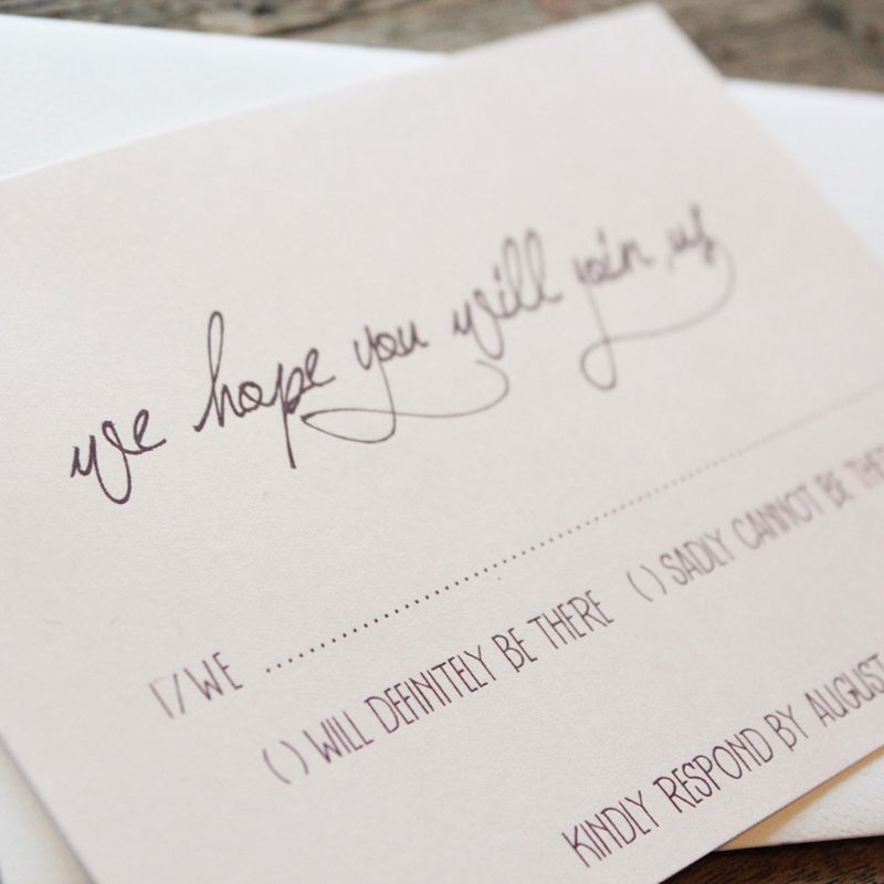 Beautiful Earthy Wood And Floral Wedding Invitation From Akimbo Design