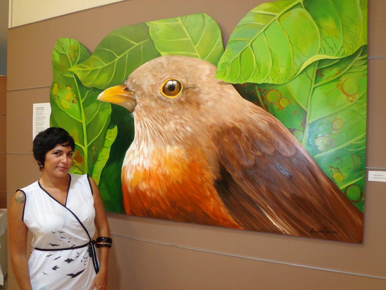"""exposição """"voos"""" , Parque dos pássaros, Rio das Ostras, rj"""
