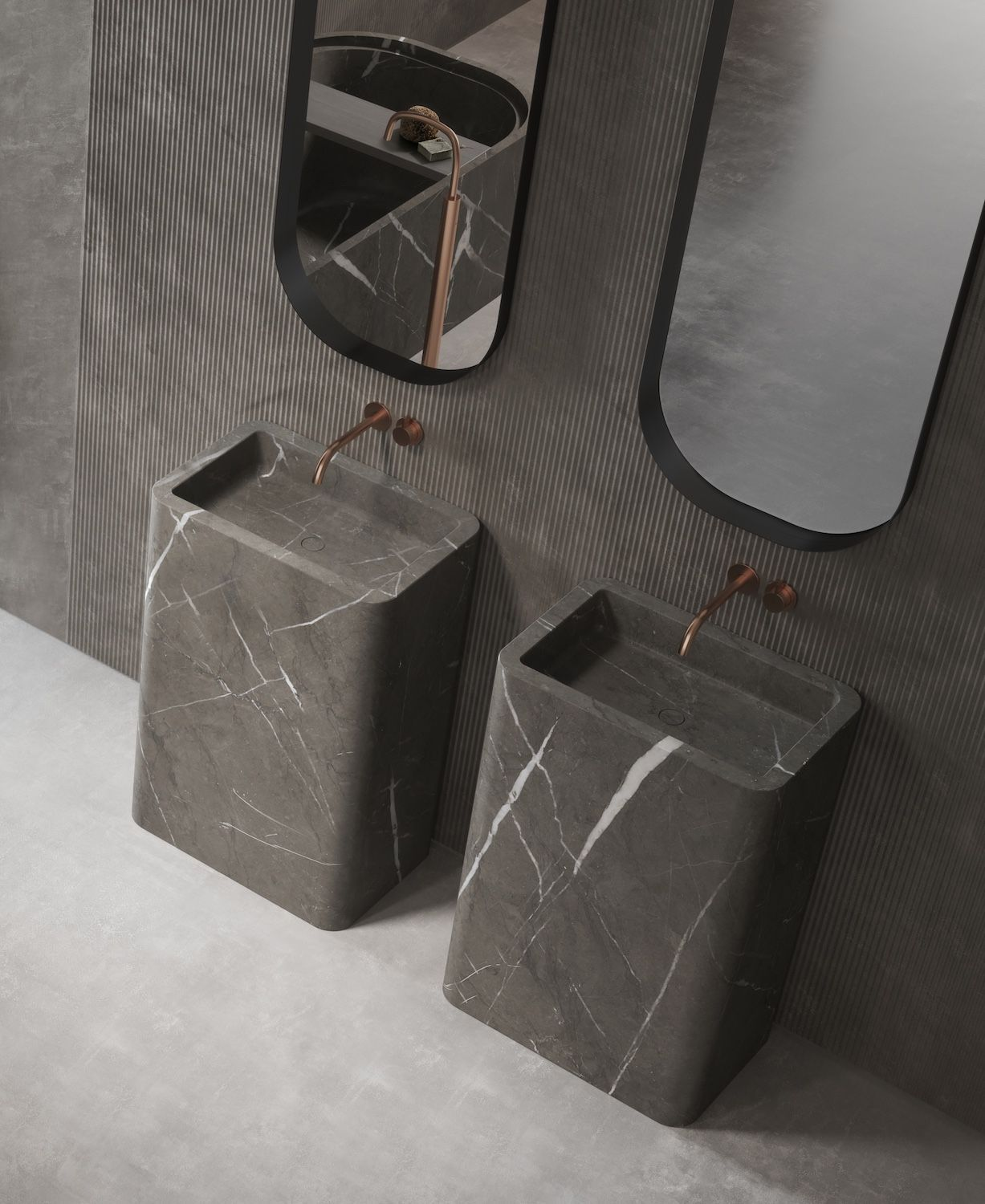 Photo of We love marble !!! This is the Piet Boon by COCOON bathroom collection