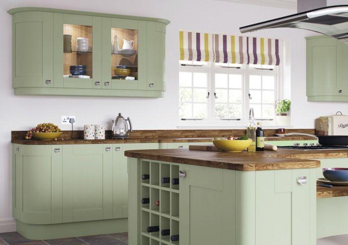 tendance 2018 int grer la couleur sauge dans l 39 int rieur sauge cuisine tendance et tendance. Black Bedroom Furniture Sets. Home Design Ideas