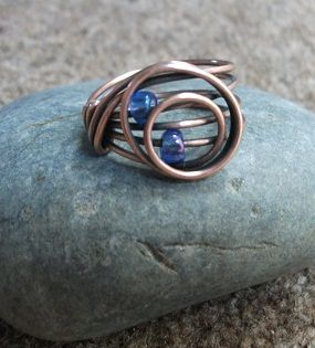 Circles ring | JewelryLessons.com