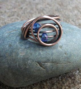 Circles ring | JewelryLessons.com