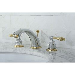 Two Tone Bathroom Faucets. Add Lasting Beauty And Charm To Your Bathroom Decor With This Widespread Bathroom Faucet Featuring A Two Tone Construction This Victorian Faucet Offers