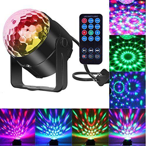 Sound Activated Strobe Light Disco Ball
