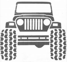 Jeep Clip Art Google Search Daves 50th Bday Jeep Drawing