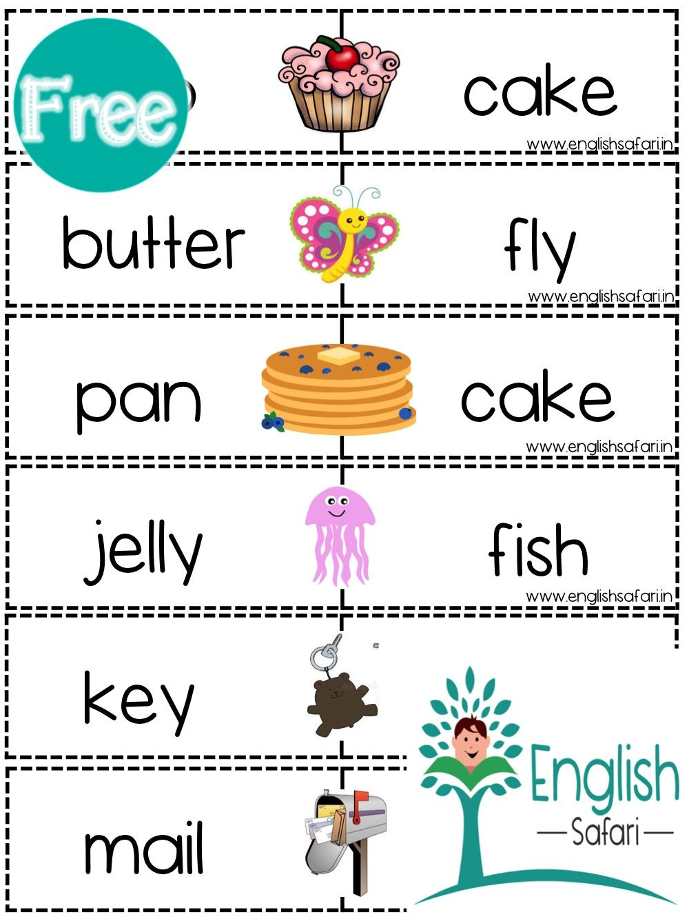 Free Compound Words Puzzles Www Englishsafari In Compound Words Compound Words Worksheets Word Puzzles [ 1333 x 1000 Pixel ]