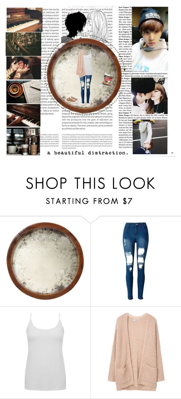 """""""Beautiful Distraction"""" by wooziisbae143 ❤ liked on Polyvore featuring Oris, Fantasia, John-Richard, WithChic, M&Co, MANGO and Converse"""
