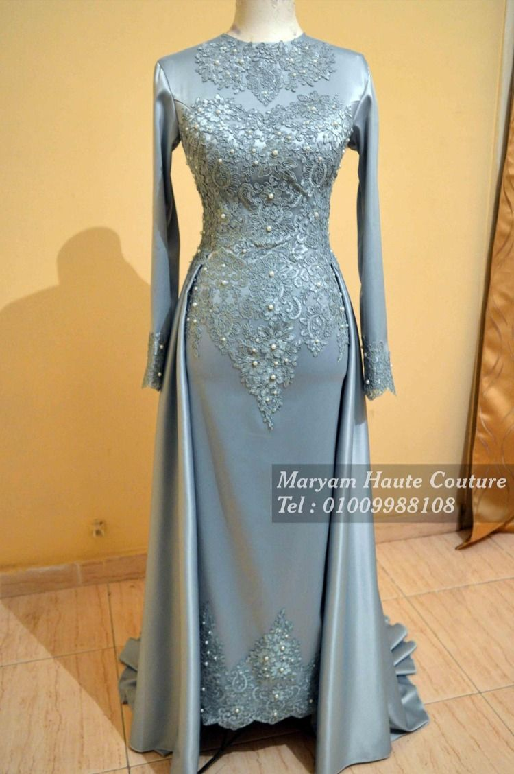 فساتين سواريه للمحجبات Soiree Dress Prom Dresses Long With Sleeves Dresses