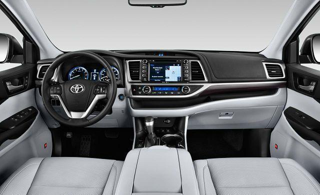 Cool Toyota Highlander 2017 2017 Toyota Highlander Interior