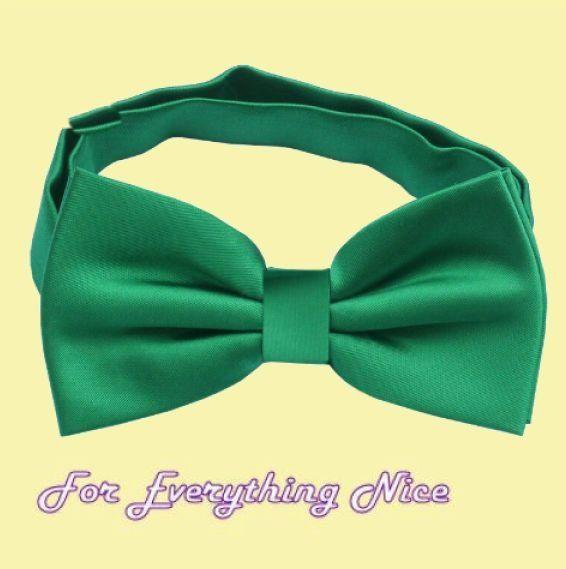 Emerald Green Formal Groomsmen Groom Wedding Mens Neck Bow Tie