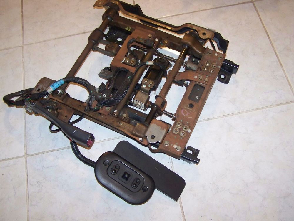 Details about 9904 Ford Mustang Power Seat Track assembly