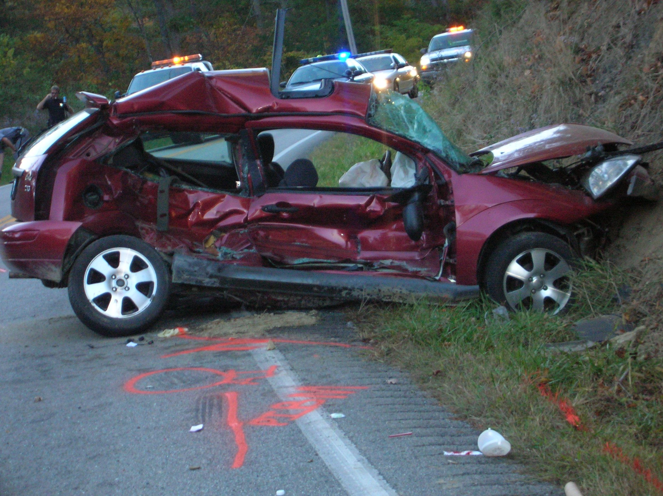 car wreck Car accident, Car, Car crash