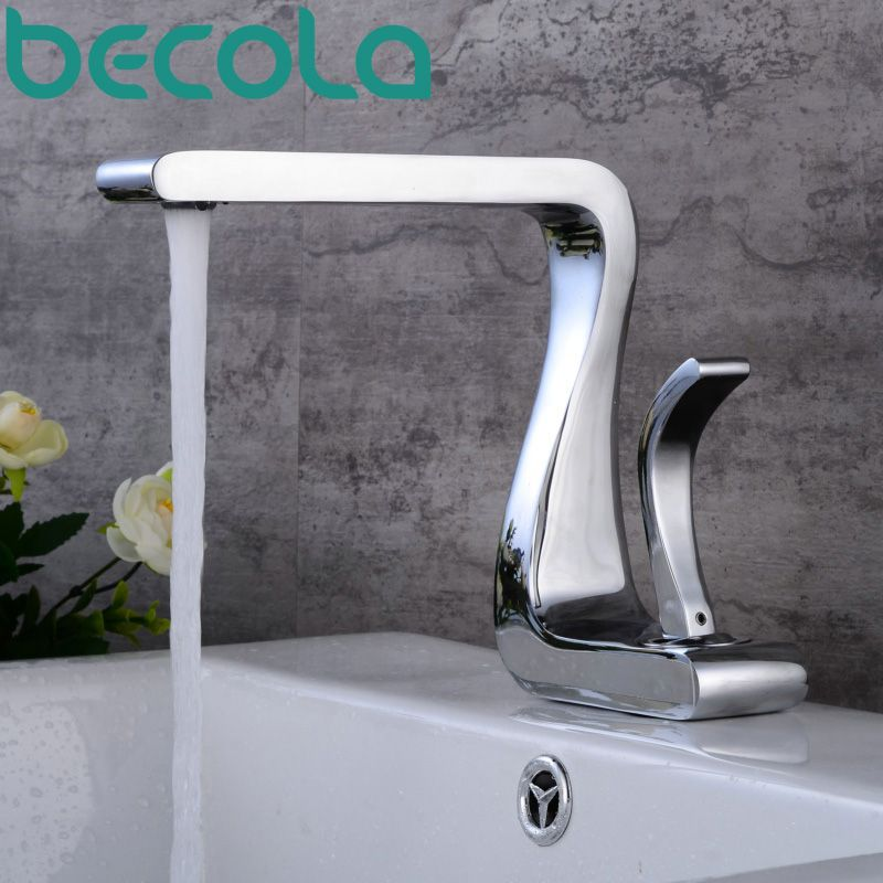 becola new design bathroom faucet high quality luxury brass basin ...