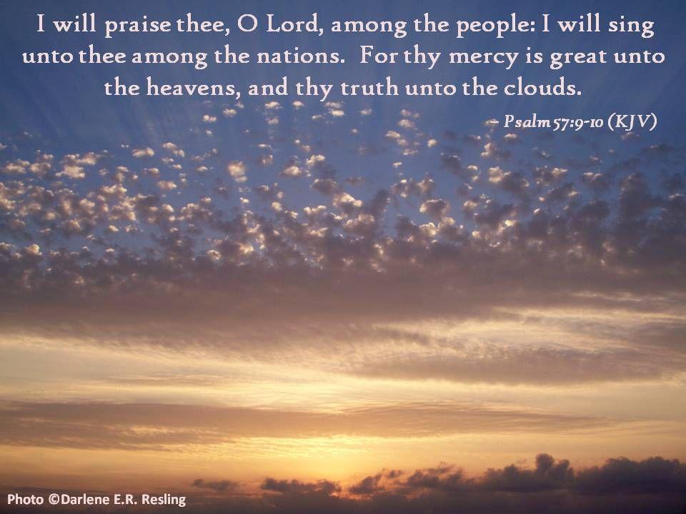Psalm 57 | Interactive Worship & Sermon Illustrations