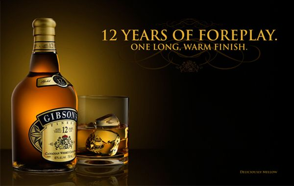 Gibsons Finest Whisky By Arron Isaac Via Behance Whisky Beer Ad Wine And Beer