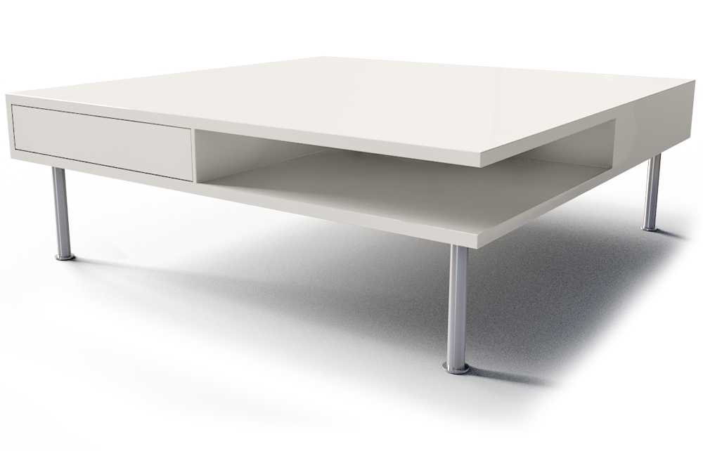 TOFTERYD Coffee table - high gloss white   Coffee table ...