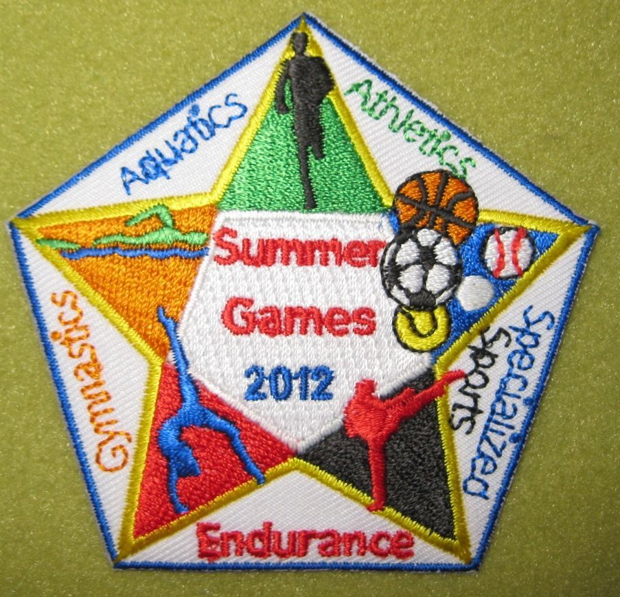 Girl Scout 100th Anniversary 2012 fun patch. Summer