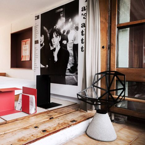 Le Industrial Design industrial designer konstantin grcic has furnished an apartment in