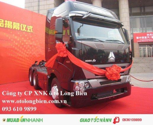 Đầu kéo howo 375 420 A7 tại Ha Nội 2016 2017