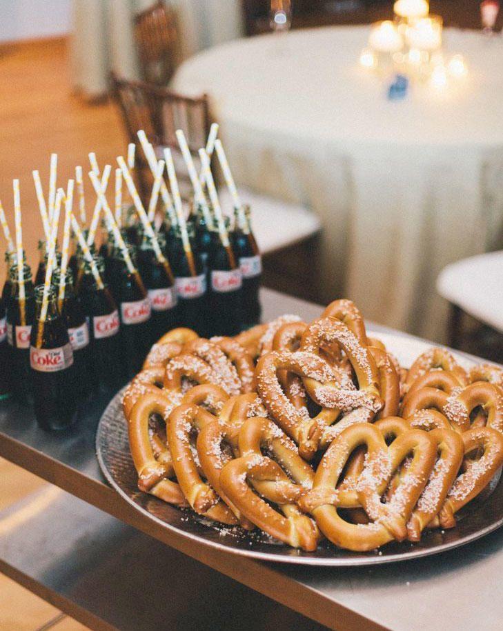 9 Ways To Make Your Wedding Guests Happy Wedding Snacks Wedding Reception Food Wedding Finger Foods