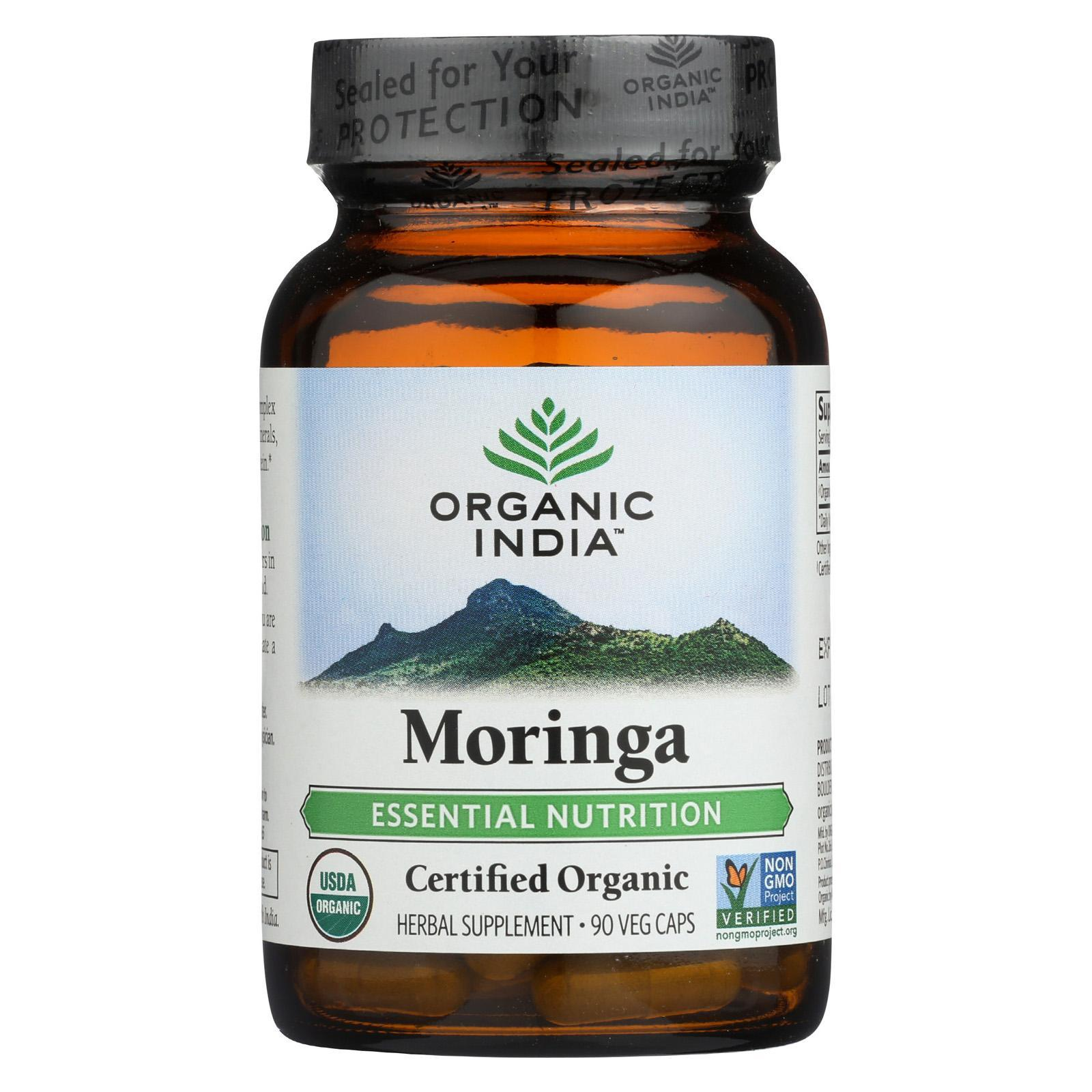 Organic India Moringa 90 Vcap Organic india, Moringa
