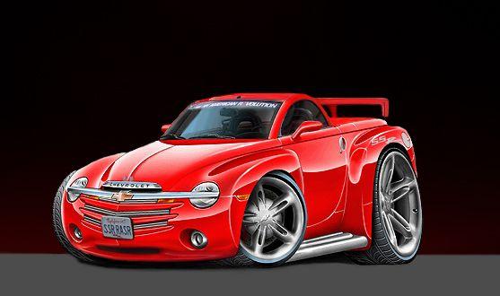 Cartoon Muscle Cars Loo Cars Art Pinterest Auta Kresleny