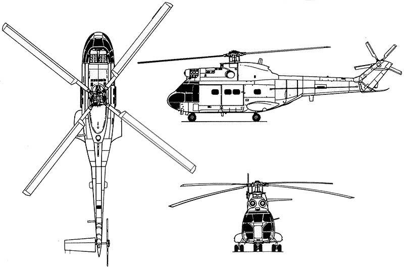 types of american military helicopters