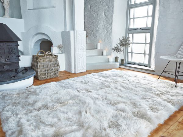Sheepskin Rug Living Room
