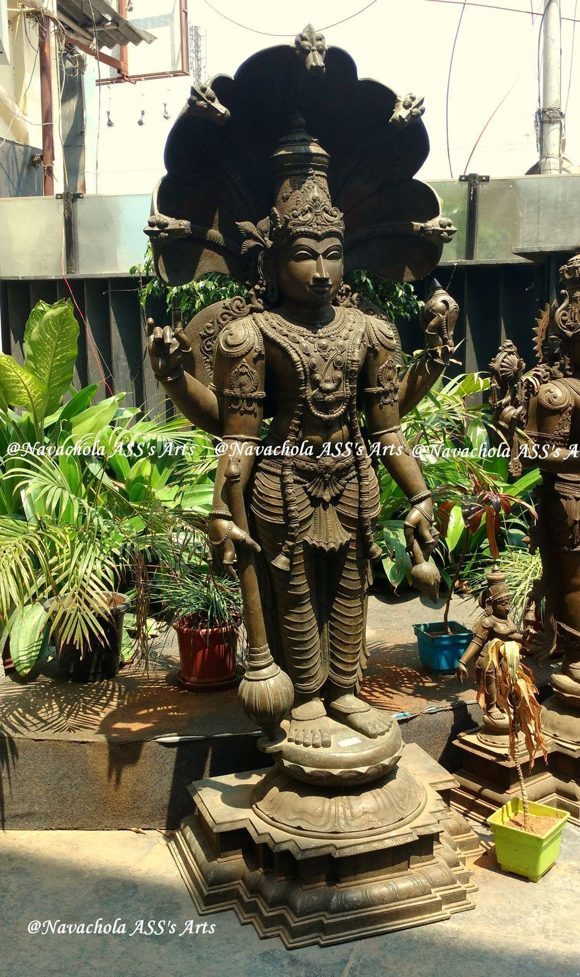 Authentic handcrafted art, south indian made bronze icon