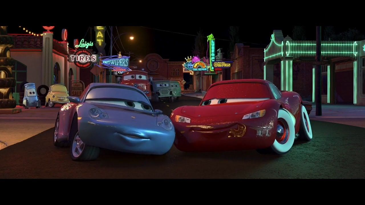 Sally carrera makes out with lightning mcqueen hd youtube