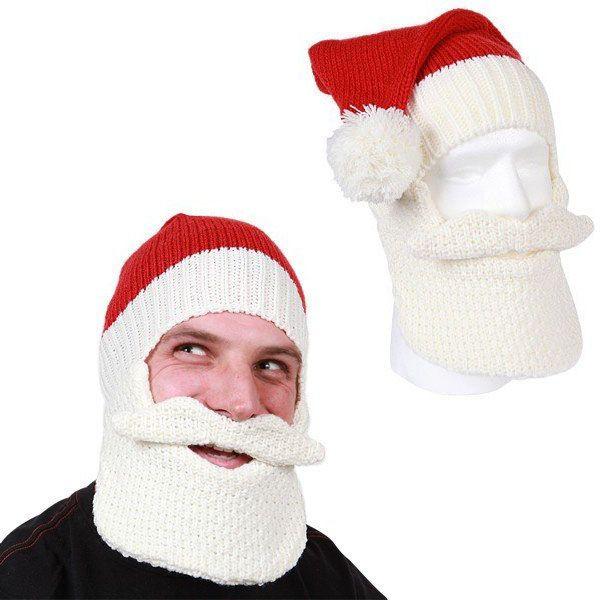 Santa Beard Head Hat   Strick und Häkeln