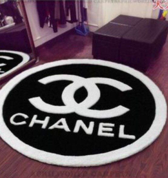 Chanel Round Rug In 2019 Room Inspired