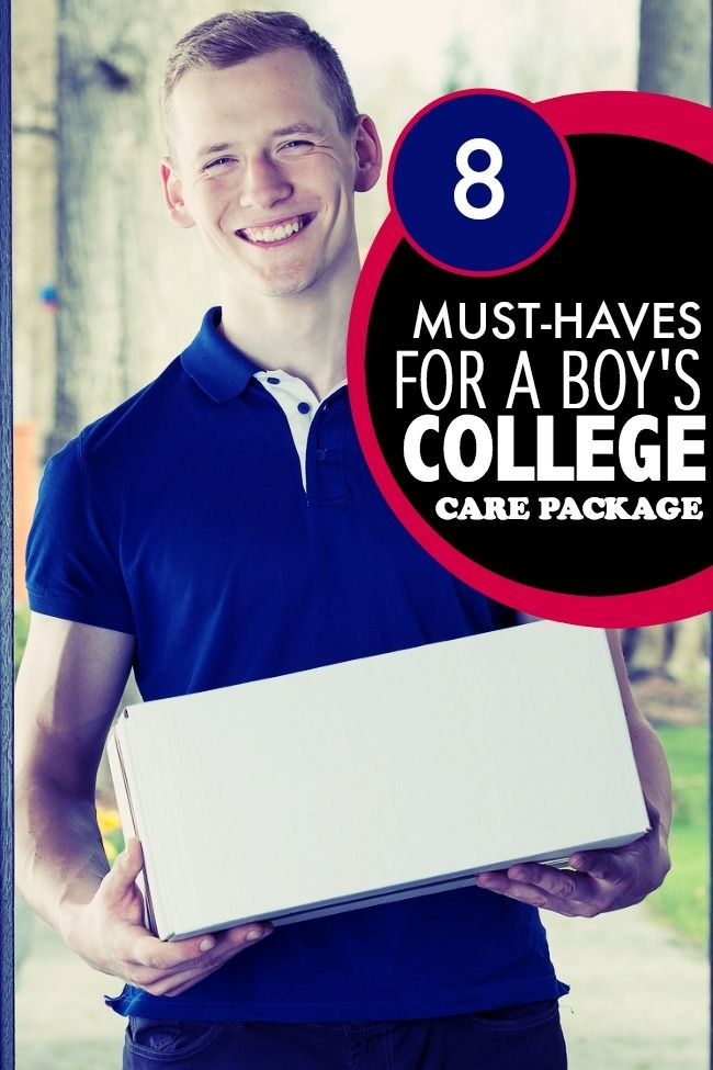 13 Items for a Boy's College Care Package Cadeaux pour  Gifts for