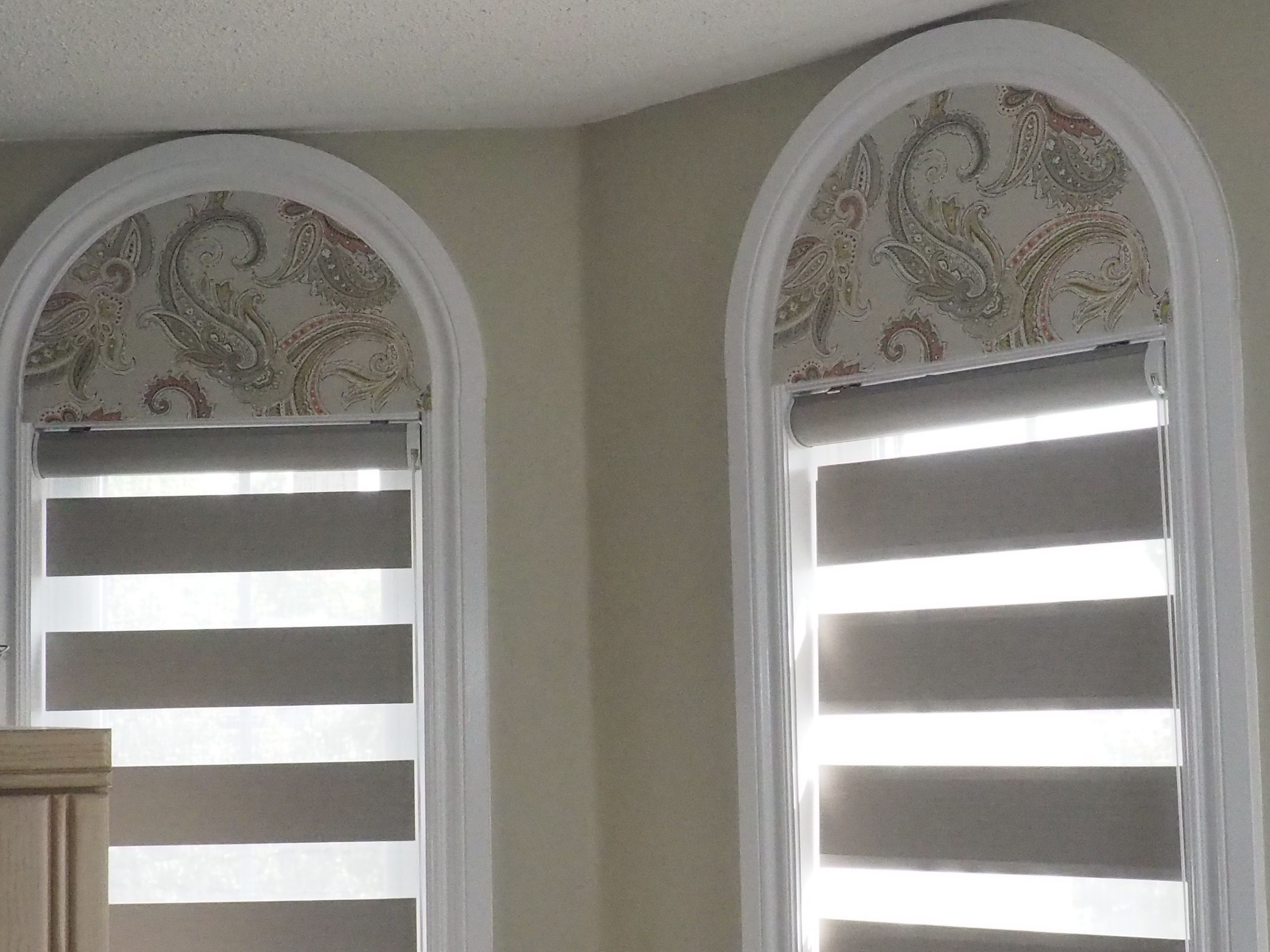 Window treatments for arched windows - Remarkable Arch Window Coverings Toronto Blinds Together With Blackout Flat Arch Window
