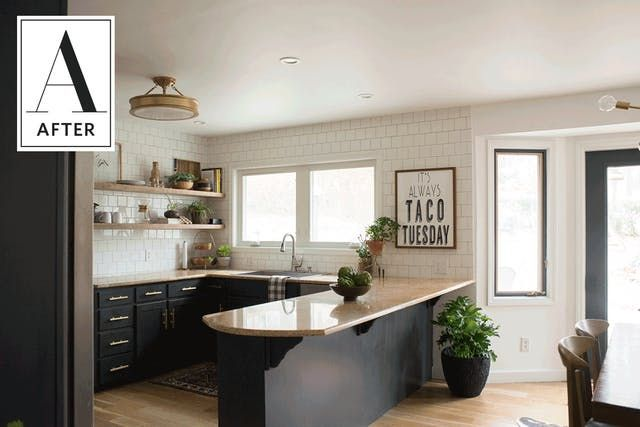 Before U0026 After: A Stunning DIY Kitchen Update For 15k