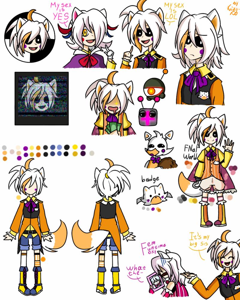 Anime Characters Sister Reader : Sister location fnaf world lolbit by kizy ko viantart