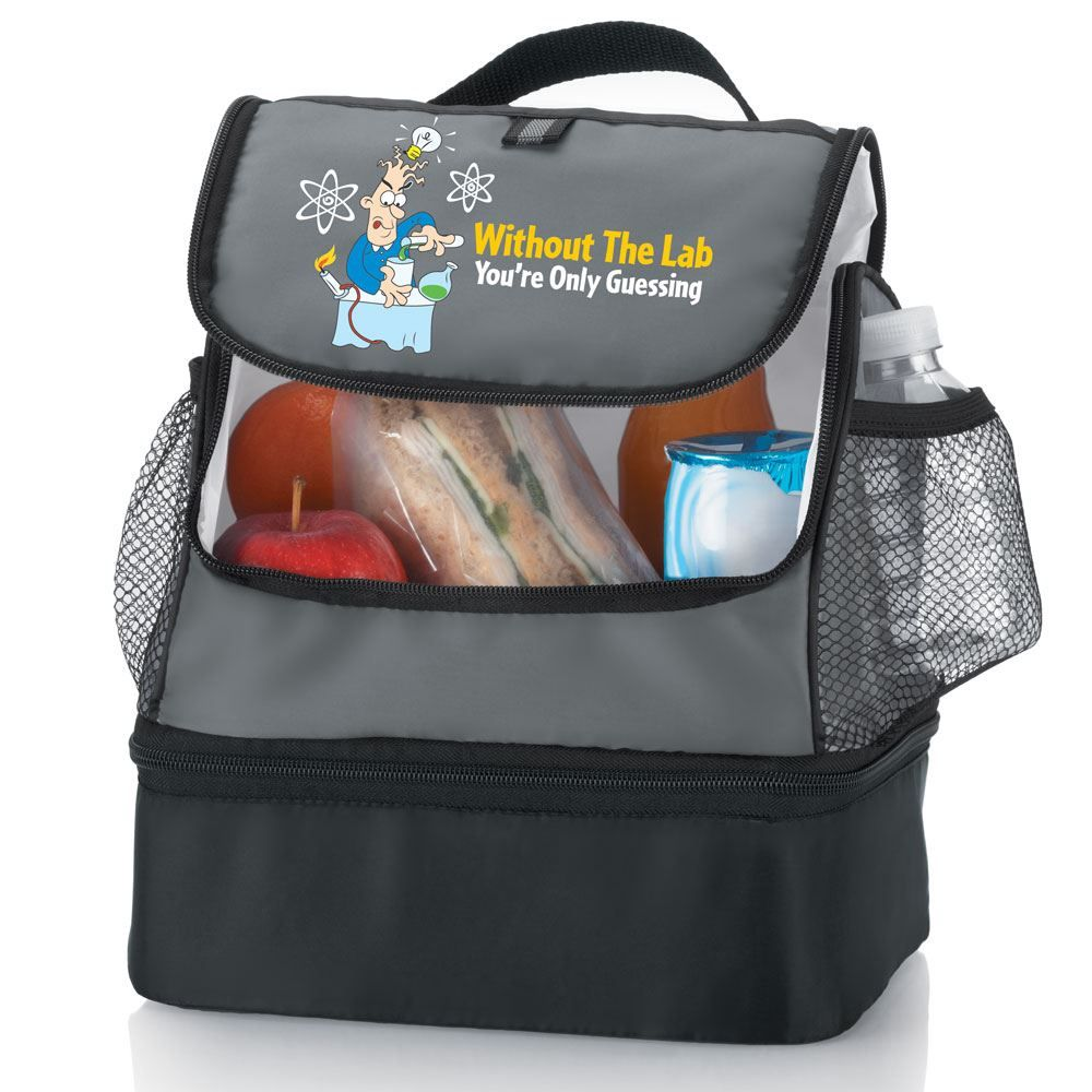 Without The Lab You're Only Guessing Bayport Dual Compartment Lunch Bag