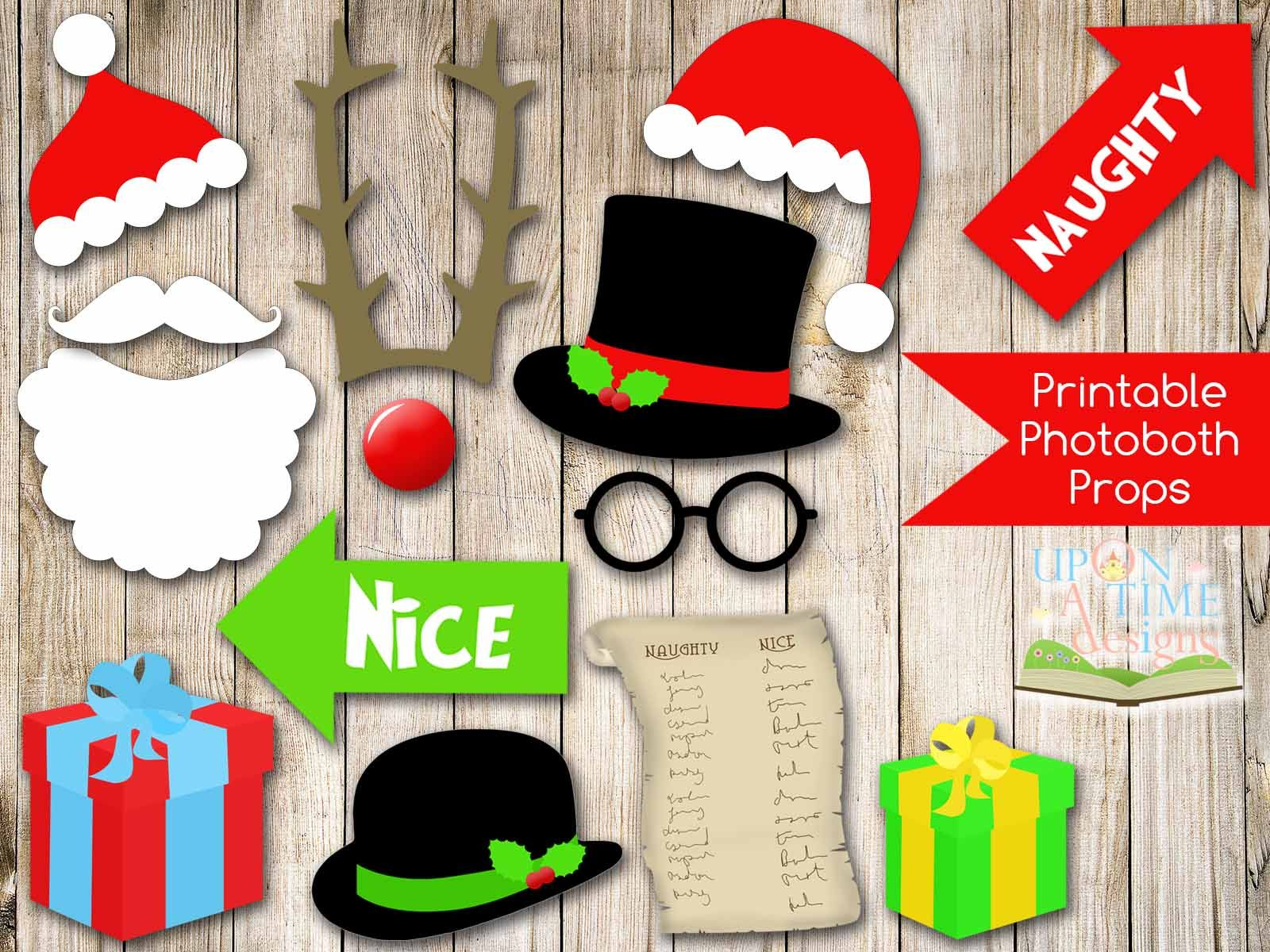 free ecard christmas party invitations%0A   Best Images of Christmas Photo Prop Printables  Christmas Printable  Story Book  Christmas Booth Prop Printables Free and Free Printable Christmas  Party