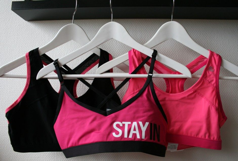 Stay in place. Sportbh. Sportbutik