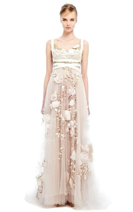 Bridal Inspiration: Marchesa Spring/Summer 2014