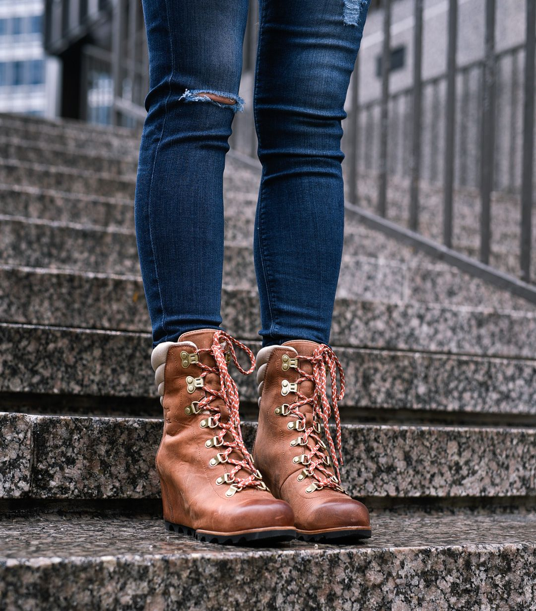 cebf887c293 The cutest  wedges you need for winter with  SOREL and  Zappos! Cute   waterproof  boots are tough to find - these are my favorite (and can  arrive by ...